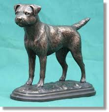 border terrier figurines breed sculptures from