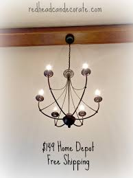rustic light fixture bedroom makeover for part 1 can