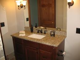 Oil Rubbed Bronze Faucet Bathroom Gorgeous Bathroom Sinks With Granite Countertop Using Rectangular