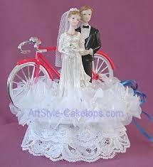 bicycle cake topper bicycles wedding cake topper bicycle groom cake topper bikes