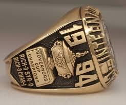 Baseball Wedding Ring by 1994 Richmond Braves Baseball