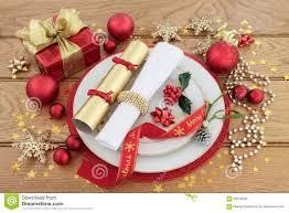 christmas dinner place setting stock photo 59510556 megapixl