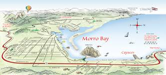 World Map To Scale by Morro Bay Area Welcome Map A Fun Interactive Guide To The