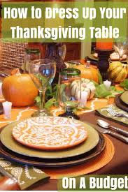 plastic thanksgiving tablecloths how to dress up your thanksgiving table i don u0027t have time for that