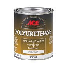 ace great finishes polyurethane quart wood finishes ace hardware