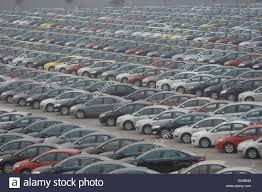 mazda ltd new cars are seen at a parking lot of changan ford mazda