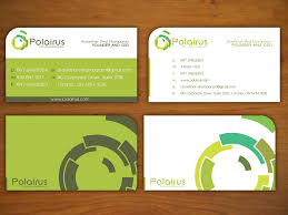 card design modern professional business card design for polairus