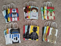 wars gift bags wars lego party favor gift bags set of 6 by partyrockinevents