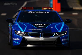 Bmw I8 Front - bmw i8 safety car gets a new livery for the eprix in new york city