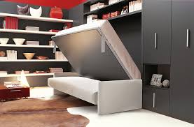 sofa that turns into a bed transformable murphy bed over sofa systems that save up on ample space