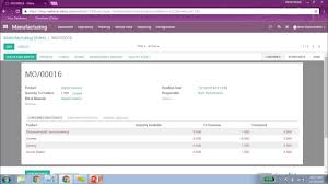 odoo production planning and shop floor management youtube