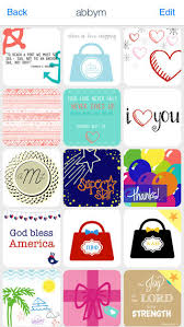 Meme Design App - stationery design glitter and monogram meme for the crafty preppy