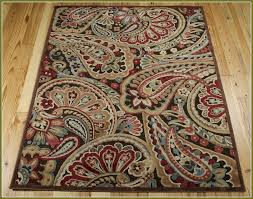 Paisley Area Rugs Strikingly Paisley Area Rugs Pattern Home Design Ideas