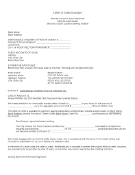 letter of credit samples u0026 international transactions