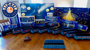 polar express collection lionel american flyer wooden