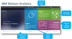 information for all watson analytics and ibm u0027s self service