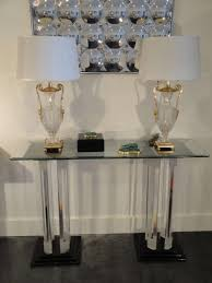 Glass Entry Table Excellent Small Glass Entry Table Of Black Square Box And