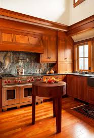 mission style kitchen cabinets kitchen backsplashes hickory wood light grey prestige door