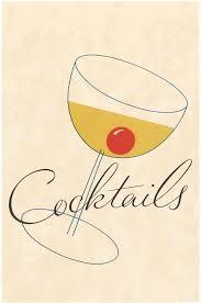 cocktail illustration vintage cocktail menu art vintage cocktail menu covers dale de