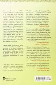 Ottoman Studies by A History Of Palestine From The Ottoman Conquest To The Founding