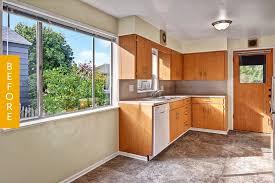 kitchen diy cabinets before after a 2 000 mostly diy kitchen remodel kitchn