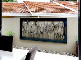 metal wall outdoor outdoor designs