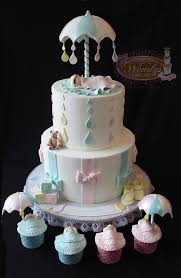 unique baby shower cakes best 25 umbrella baby shower ideas on bridal shower