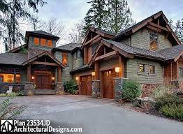 craftsman home designs plan 23534jd 4 bedroom rustic retreat craftsman house plans