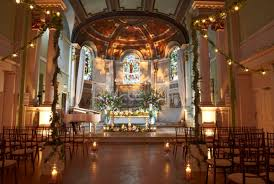 spectacular stained glass can add ambience to any wedding https