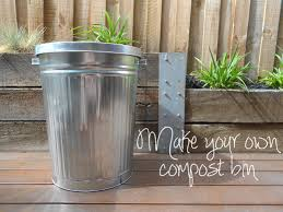 make your own compost bin the rogue ginger going zero waste
