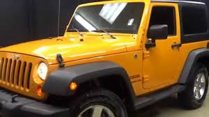jeep wrangler orange crush 2012 orange jeep wrangler sport walkaround lexus of wilmington