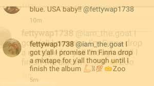 zoo writing paper fetty wap says he will drop a mixtape until he finishes king zoo fetty wap says he will drop a mixtape until he finishes king zoo the album