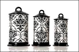 black and white kitchen canisters kitchen canister sets ceramic best unique kitchen canister sets