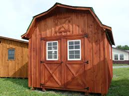 Hip Roof Barn by Fred U0027s Sheds Llc Custom Amish Sheds U0026 Other Outdoor Structures