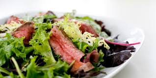 blackened steak salad recipe epicurious com