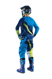 rockstar motocross helmets answer new 2016 mx alpha ansr jersey pants navy cyan blue