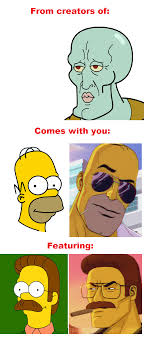 Stupid Sexy Meme - stupid sexy flanders 2 0 and homer the simpsons know your meme