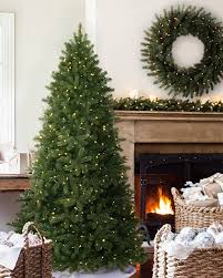 woodland spruce artificial christmas flip tree balsam hill