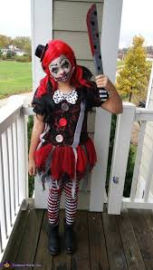 killer clown costume killer clown girl costume