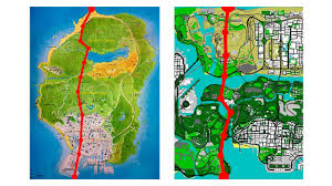 map size comparison gta v map size alternative comparison