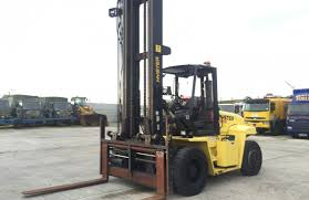 used 2008 hyster h10 00xm 10 ton lpg forklift used construction