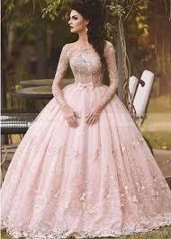pink wedding dress discount vestido de novia 2017 country blush pink lace gown