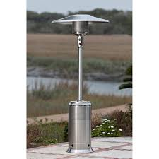 Stainless Steel Patio Heater Red Ember Hammered Bronze Commercial Patio Heater With Table