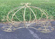 cinderella wire carriage centerpieces wire cinderella coach gold