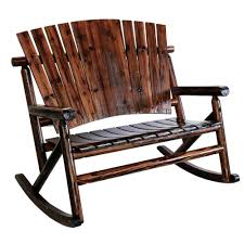 Wooden Rocking Chair Outdoor Adirondack Rocking Chair White Picture With Extraordinary Outdoor