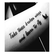 cool arm quote tattoos for black arm quote tattoos for