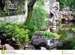 Famous Gardens Lingering Garden Lotus Pond Stock Photo Image 44294681