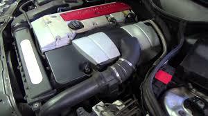 w203 c200 compressor engine sound youtube