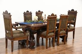 italian dining room furniture sold renaissance carved antique italian dining or library table