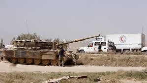 siege adp syrian rebels leave key town in besieged eastern ghouta cbs